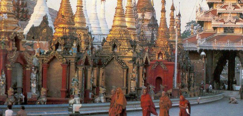 Burma und Thailand